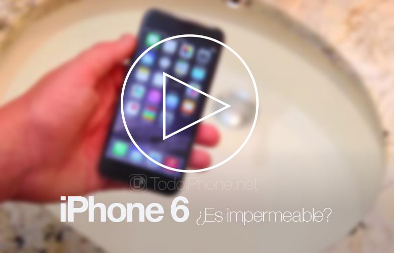 iPhone 6 Su geçirmez mi? Bir video testi bize gösteriyor 1