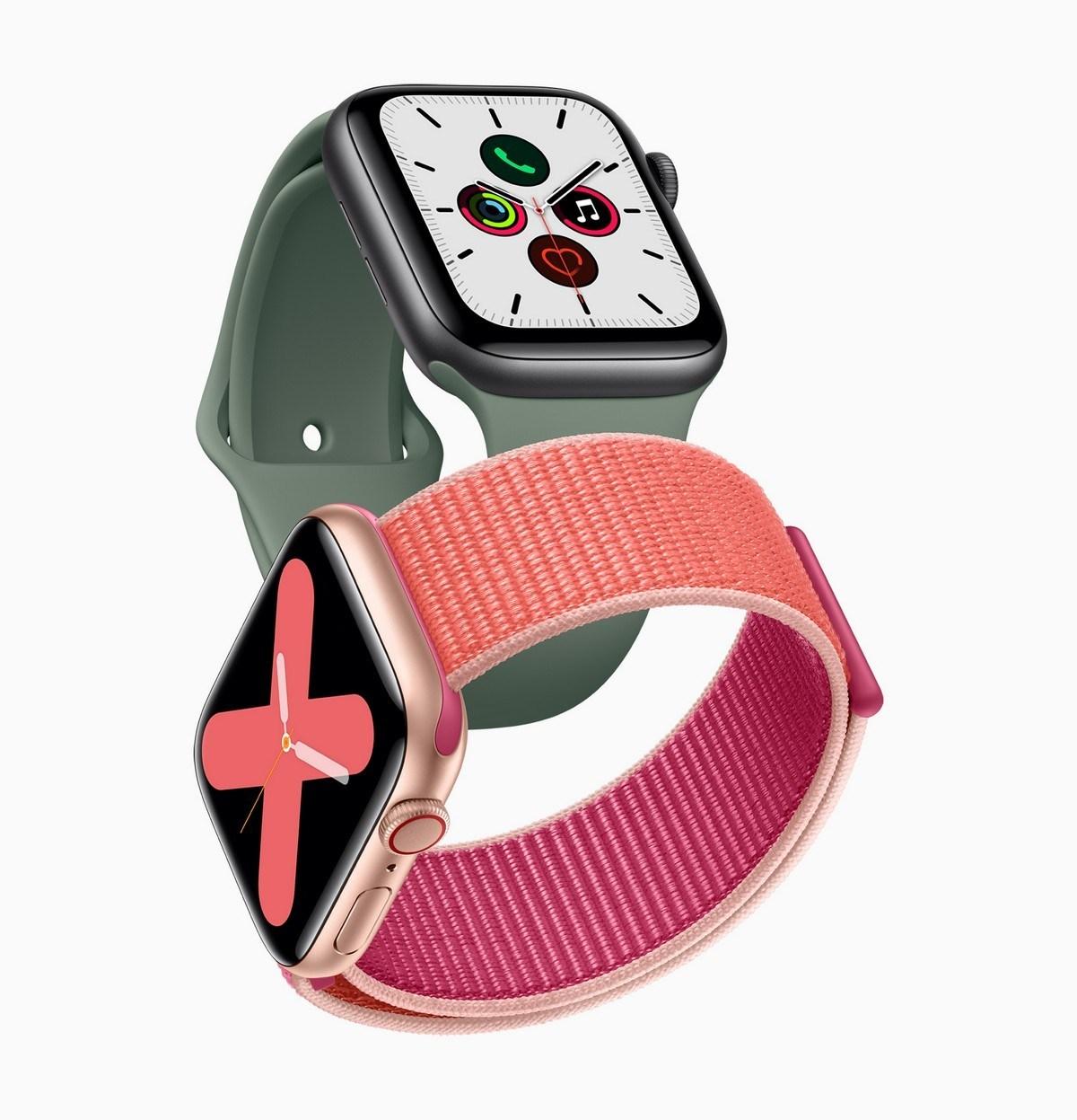 karşılamak AppleEn Son Giyilebilir Apple Watch Seri 5 1