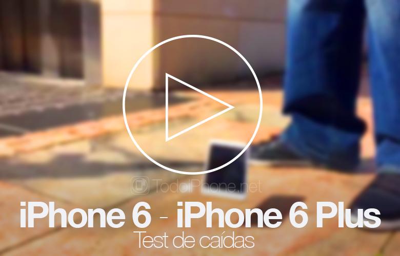 iPhone 6 ve iPhone 6 Plus, ilk bırakma testi 1