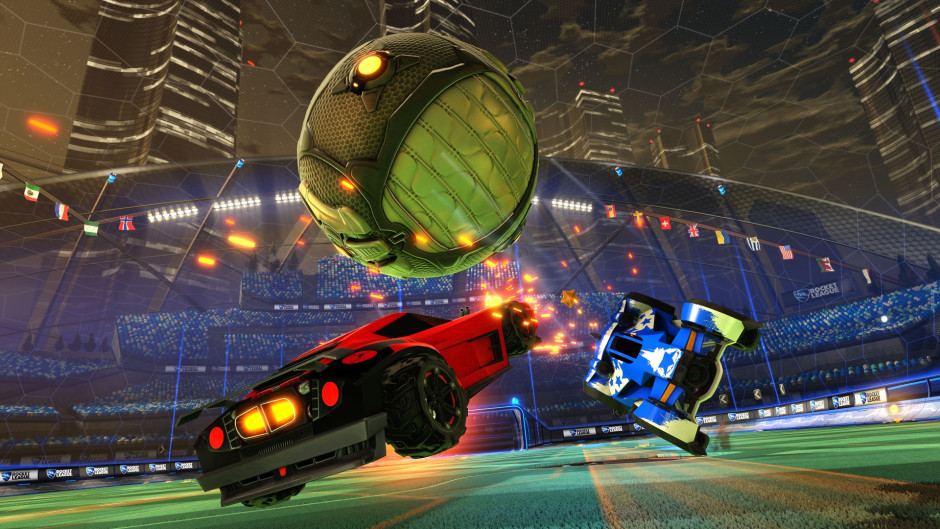 Captura de tela da Rocket League