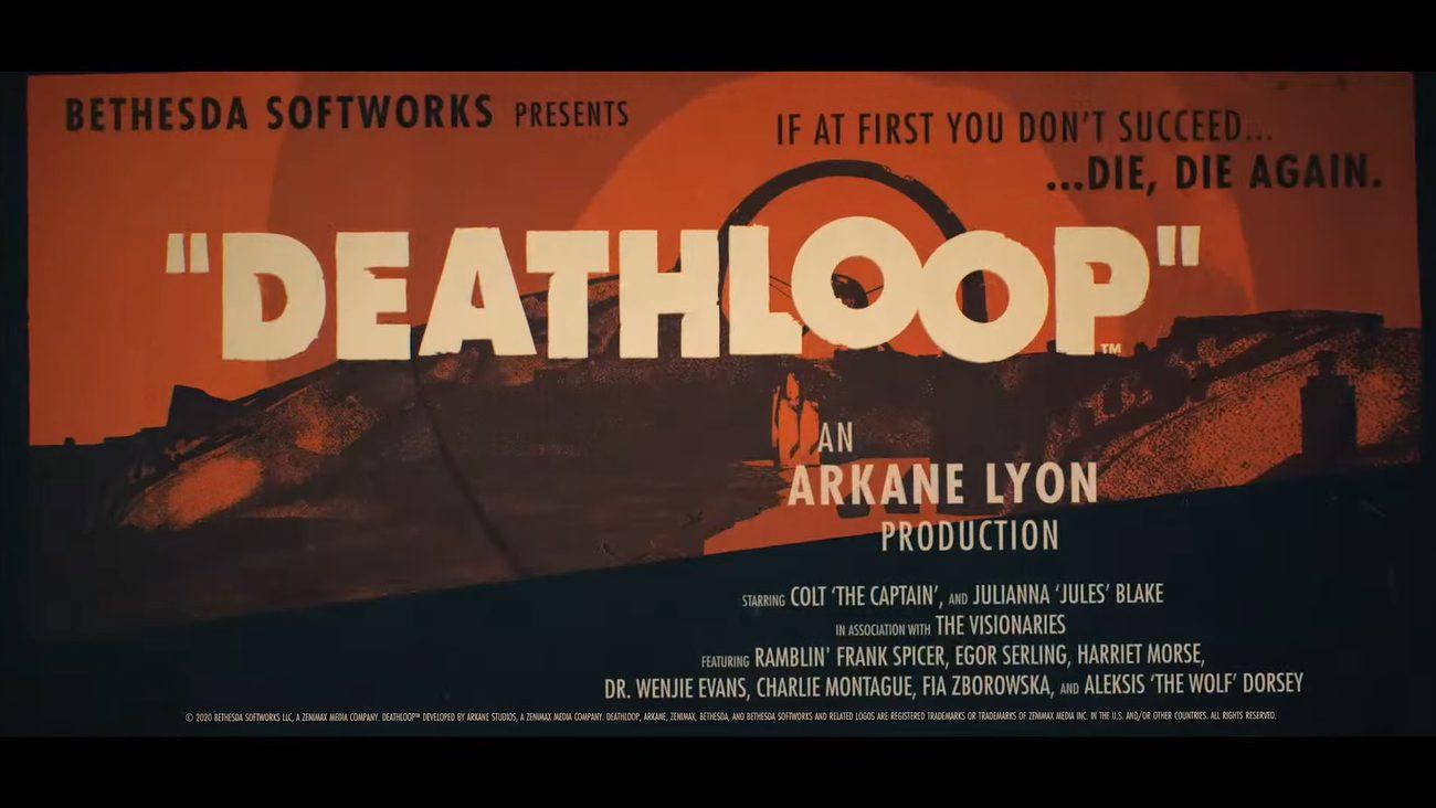 Deathloop chega ao PC com Windows e PlaStation 5 no feriado de 2020