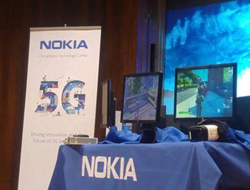 Nokia prende um foguete para 5G com um enorme teste de velocidade de 4,7 Gbps