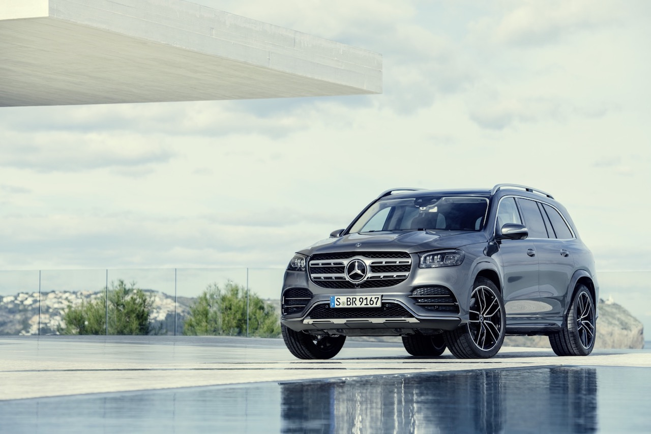 2020 Mercedes-Benz GLS embala SUV de tamanho completo com gadgets