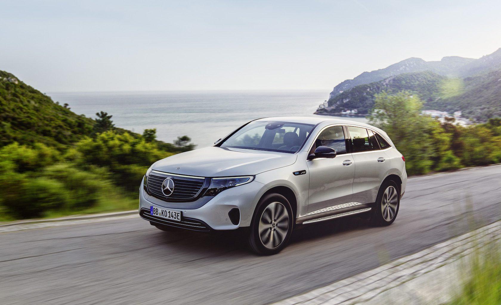 2020 Mercedes EQC Edition 1886 dá à e-SUV de estreia um visual marcante