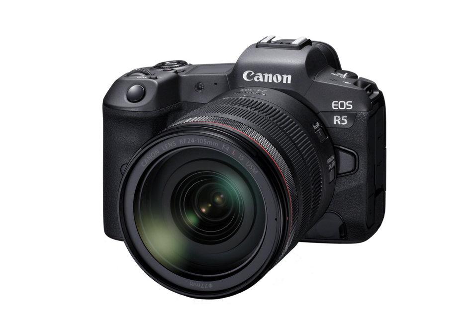 A Canon EOS R5 é uma poderosa câmera full frame 8K com ...