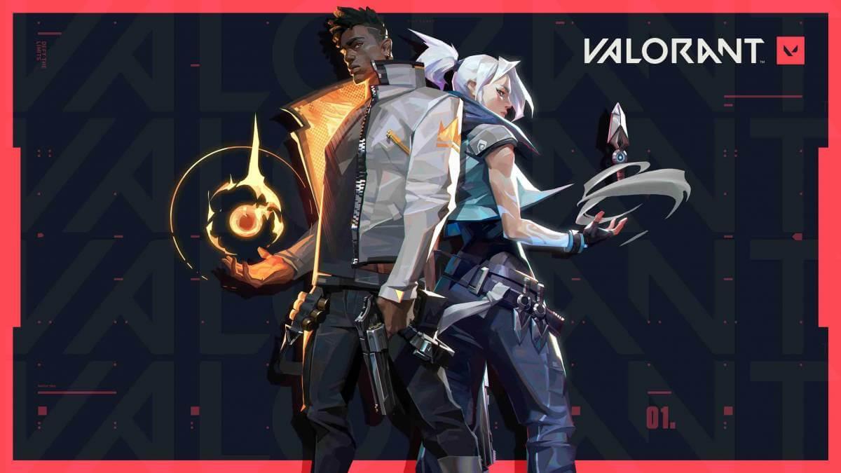 A Riot Games apresenta o ícone da bandeja e as notificações do sistema anti-fraude do Valorant, ...
