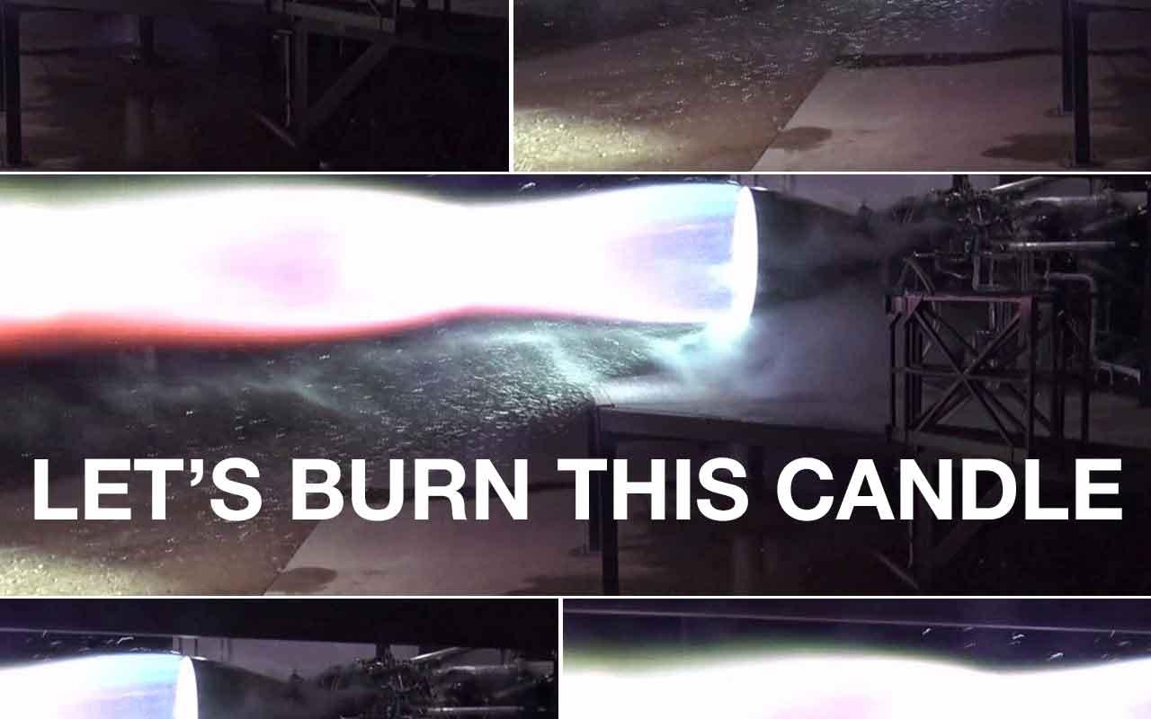 A SpaceX acabou de disparar seu motor de foguete Mars e não explodiu