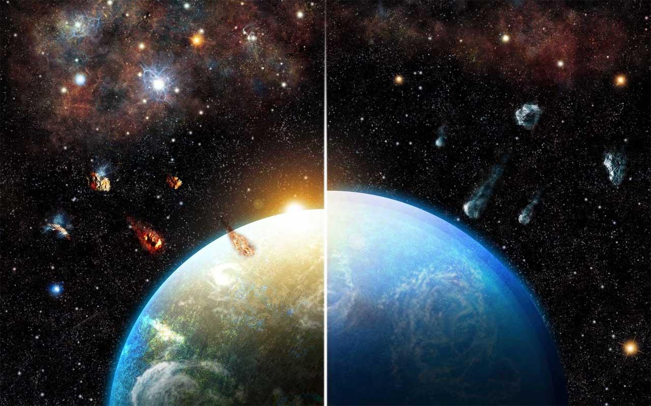 A Terra como a conhecemos é graças a uma estrela massiva ...