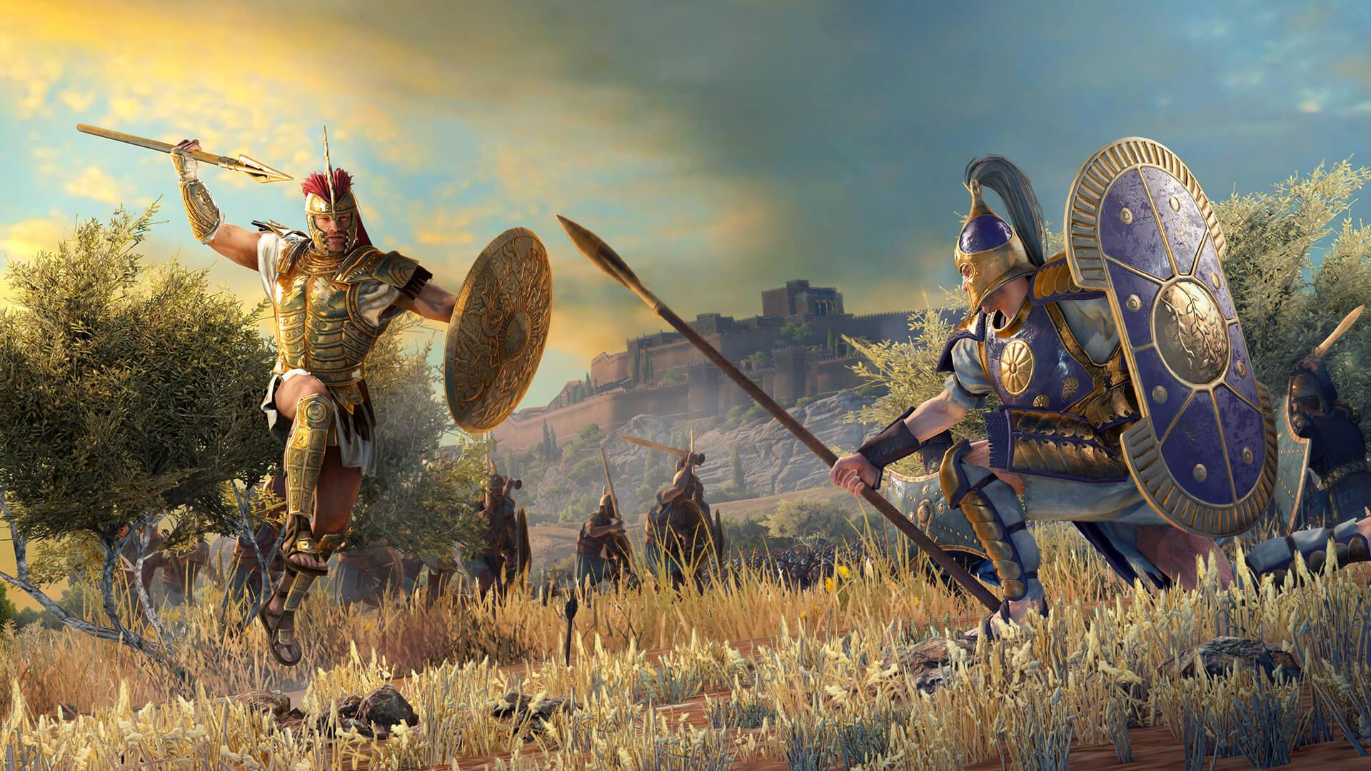 A Total War Saga: TROY será exclusiva na Epic Games ...