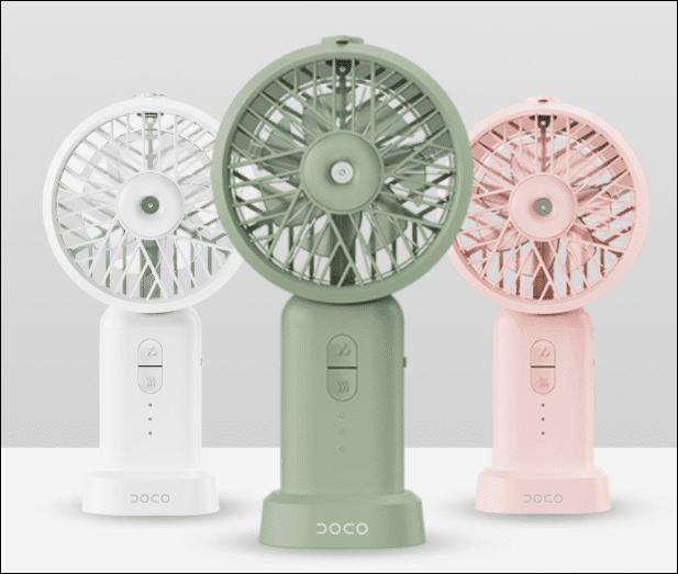 DOCO Ultrasonic Dry Misting Fan