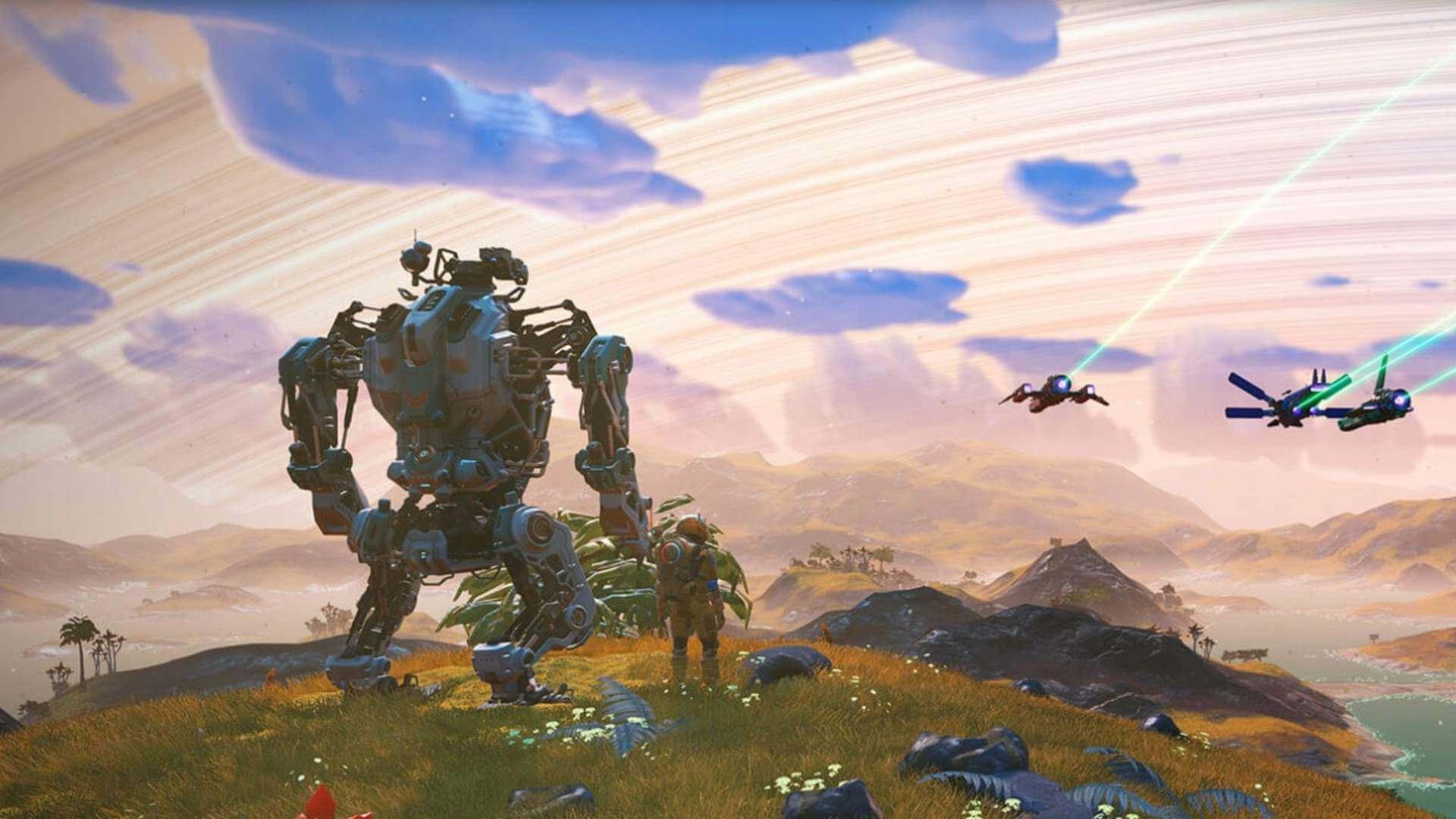 A atualização 2.42 de No Man's Sky Exo Mech corrige a jogabilidade, o desempenho e ...