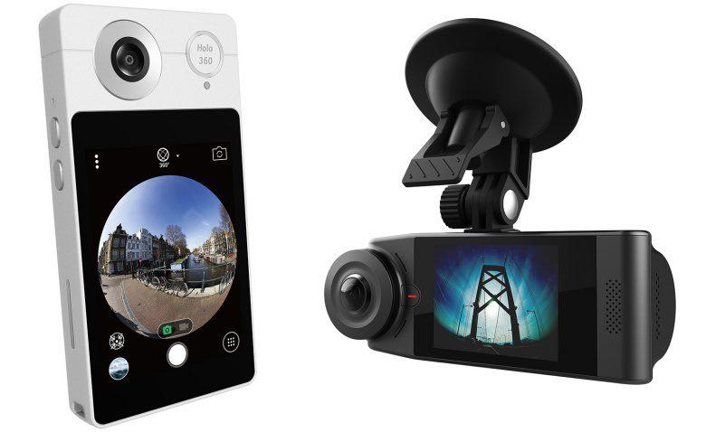 A câmera Acer Holo360 vem com Android 7.1 e tela sensível ao toque de 3 polegadas, Vision360 ...