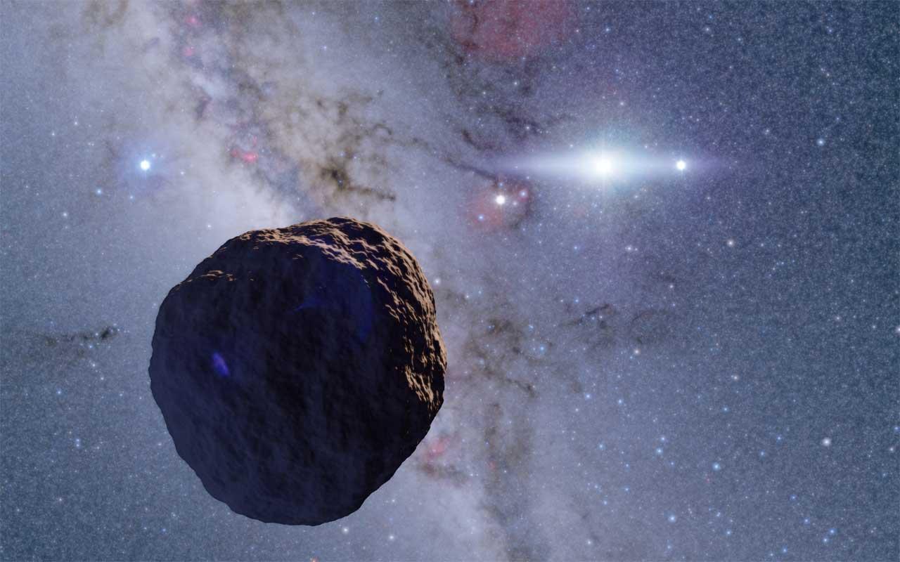 A descoberta do corpo do raio de 1,3 km no cinturão de Edgeworth-Kuiper é ...