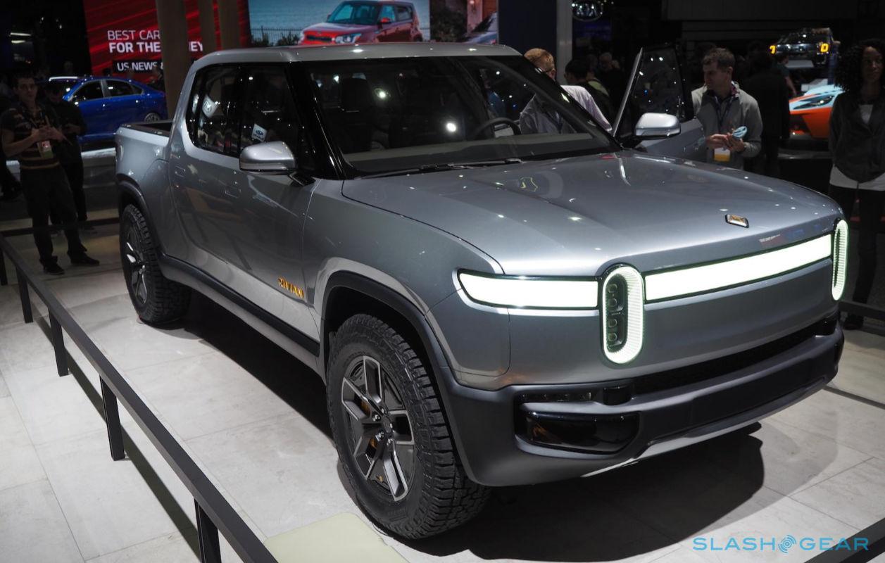 A fabricante de picapes elétricas Rivian deu gorjeta em negociações com a GM, ...