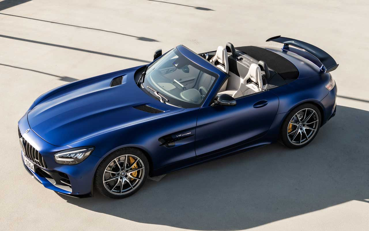 AMG GT R Roadster limited to 750 units globally packing 577 hp V8