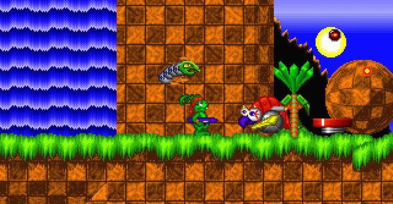 Agora você pode jogar este mashup Jazz Jackrabbit vs Sonic em ...