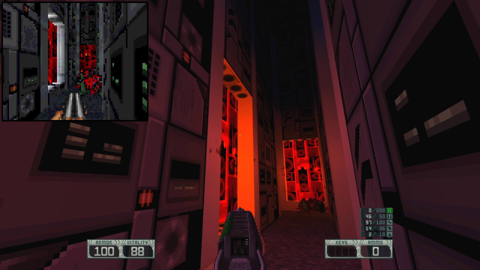 Alguém criou um Alien Breed 3D Remake no GZDoom, e ...