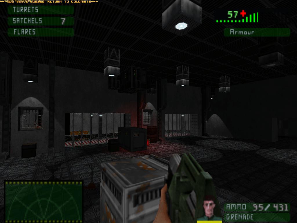 Aliens Eradication é um jogo de sobrevivência e ação em 8 mapas para GZDoom e ...