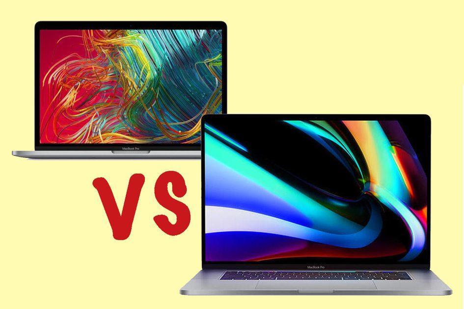 Apple MacBook Pro de 13 polegadas vs MacBook Pro de 16 polegadas: Qual é o melhor ...