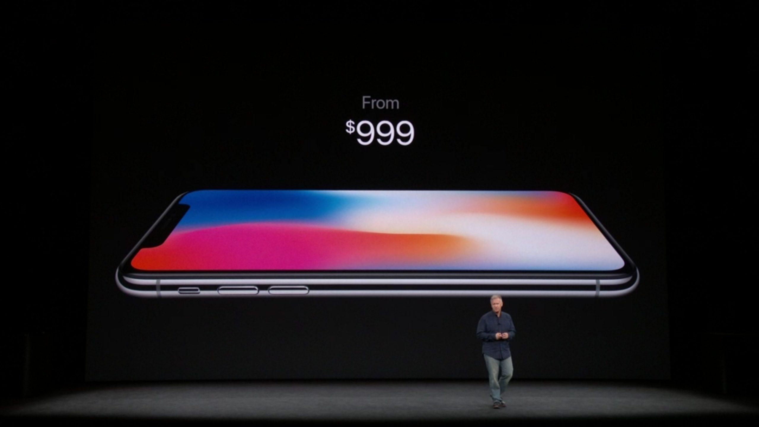AppleCare + cobertura com preço de US $ 199 por US $ 999 iPhone X, US $ 149 ...