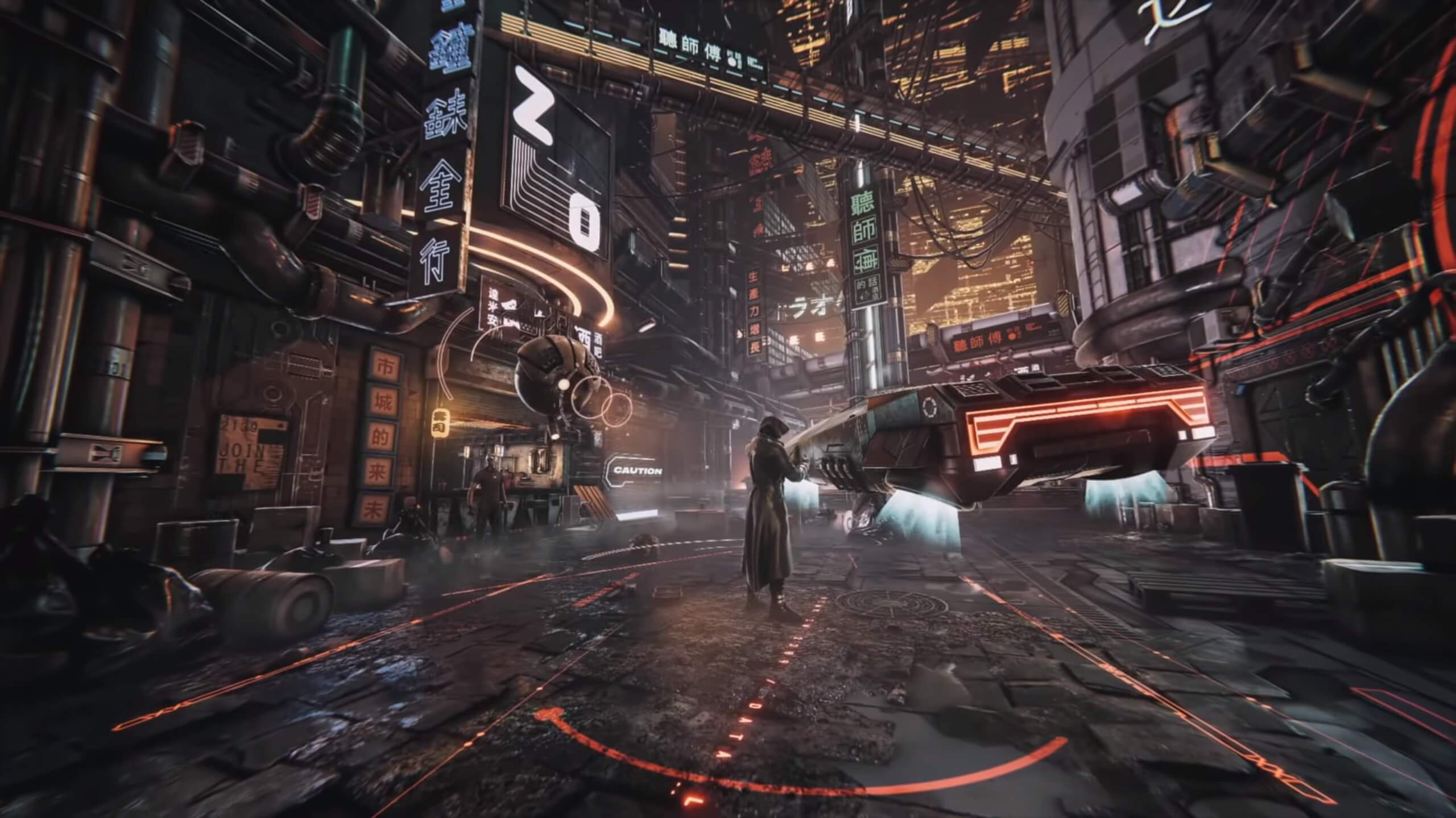 Here is what a Cyberpunk next-gen game could look like in Unity Engine