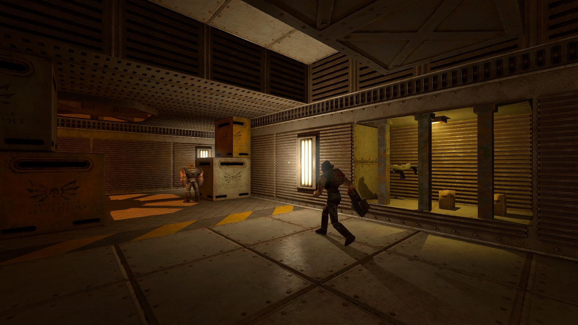 Aqui estão algumas novas capturas de tela do Quake 2 Retexture e ...