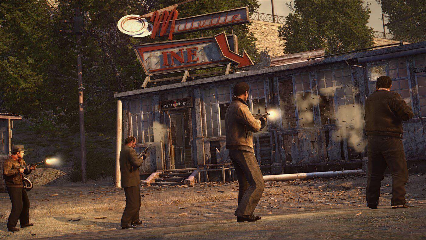 Aqui estão as primeiras capturas de tela para Mafia 2 Definitive Edition
