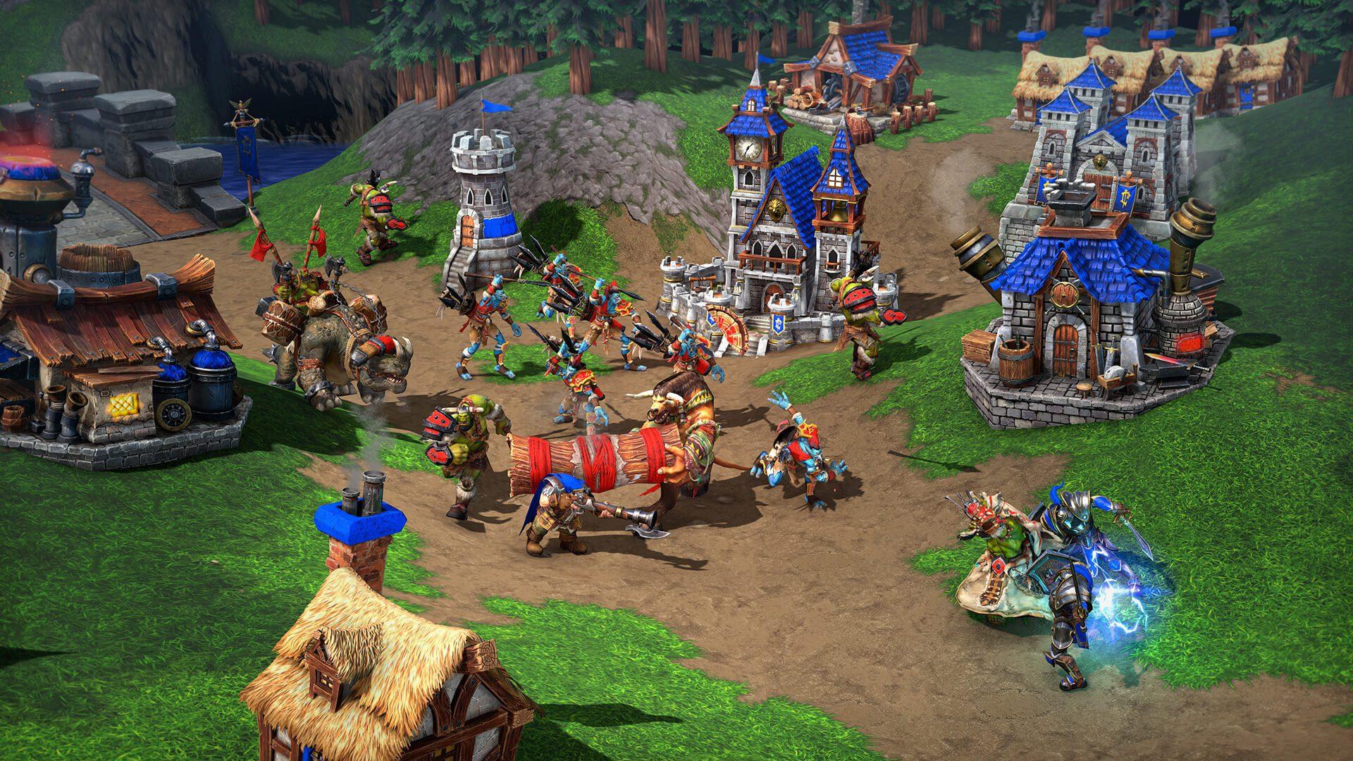 Aqui estão mais de 50 minutos de cenas de jogo do Warcraft ...