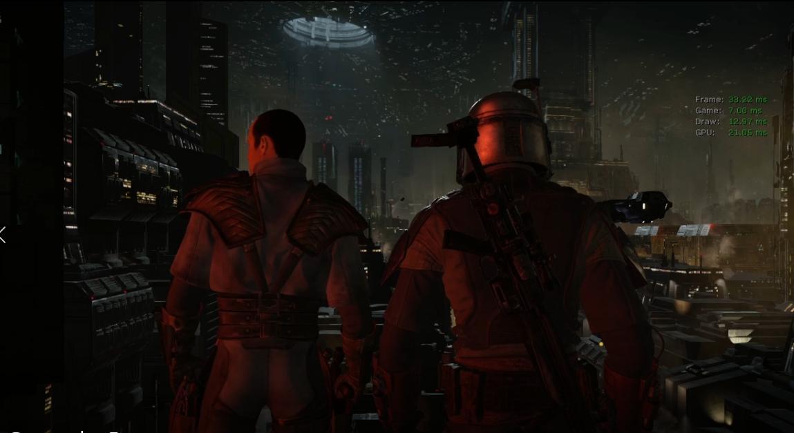 Aqui estão mais duas capturas de tela vazadas do jogo de Star Wars 1313