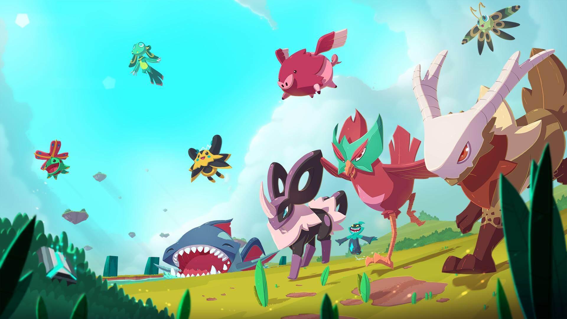 Aqui estão os primeiros 17 minutos do MMO de coleção de criaturas inspirado em Pokémon ...