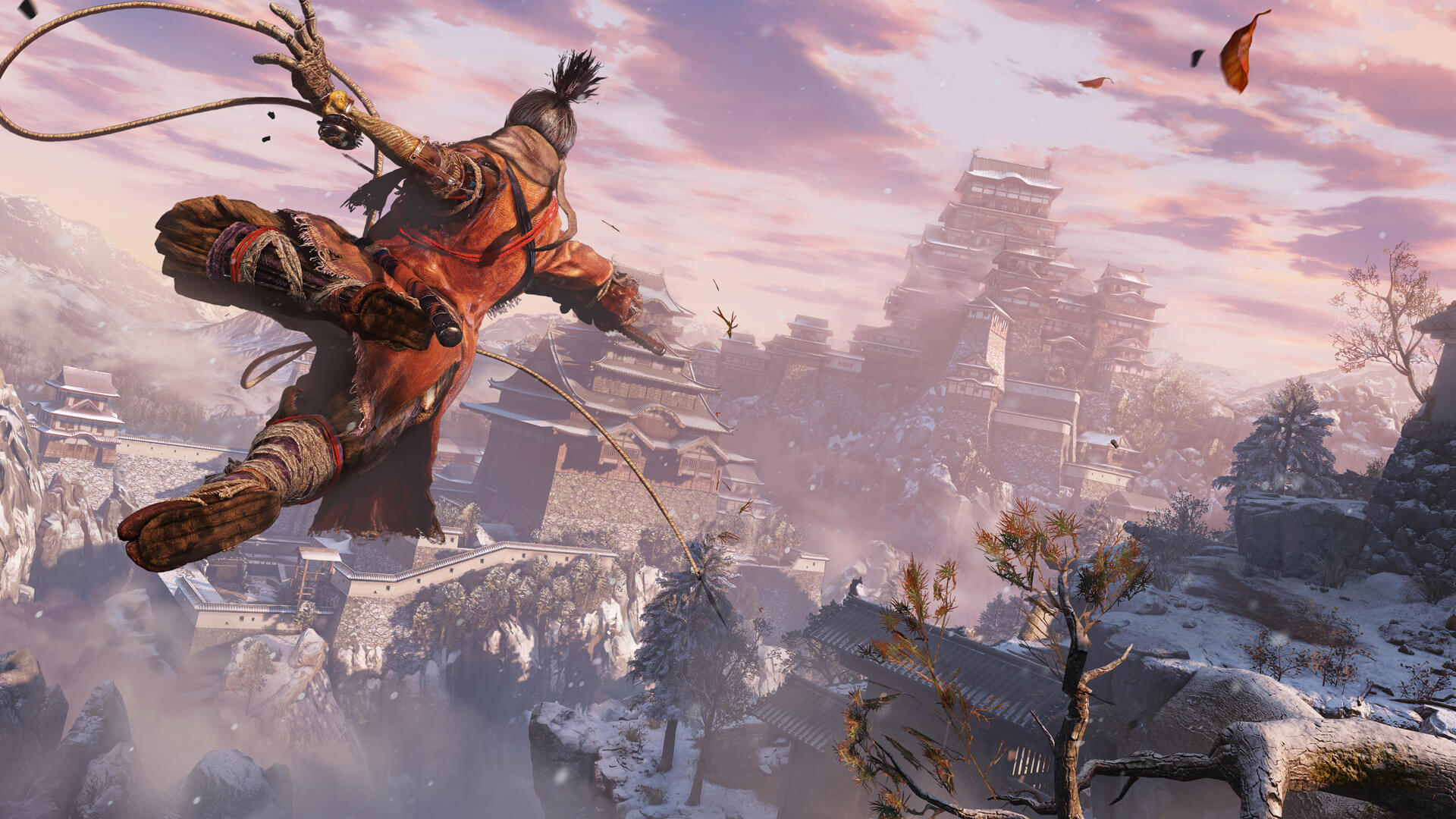This mod for Sekiro: Shadow Die Twice overhauls its Level of Detail, significantly reduces pop-ins