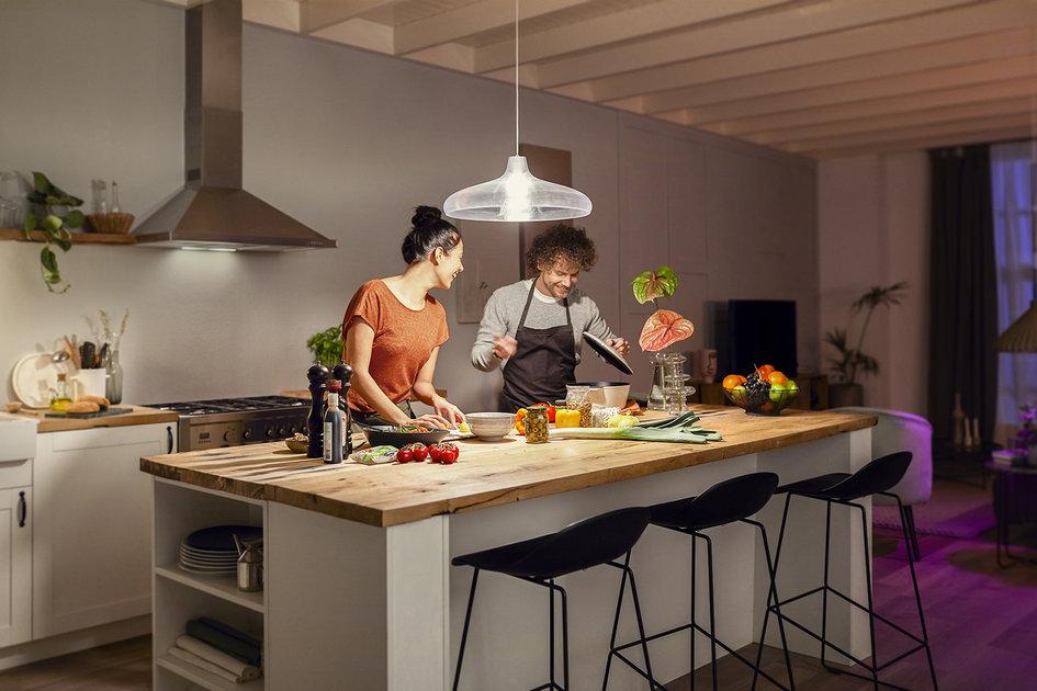 As novas opções de iluminação da Philips Hue incluem lâmpada de 1600 lúmens