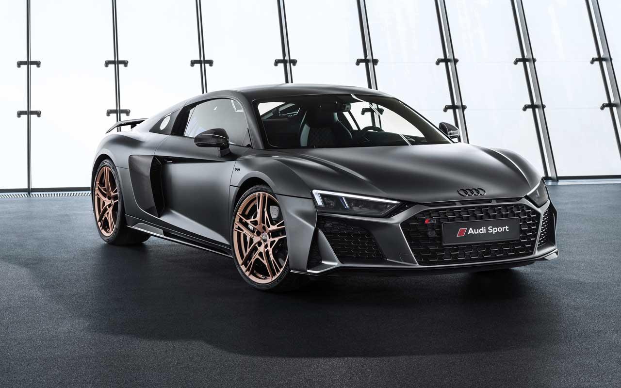 Audi R8 V10 Decennium celebrates ten years of V10 power