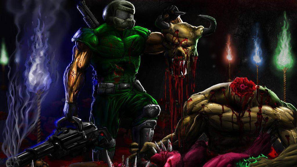 Brutal Doom V21 Release Candidate 8 available for download, packs further gore improvements