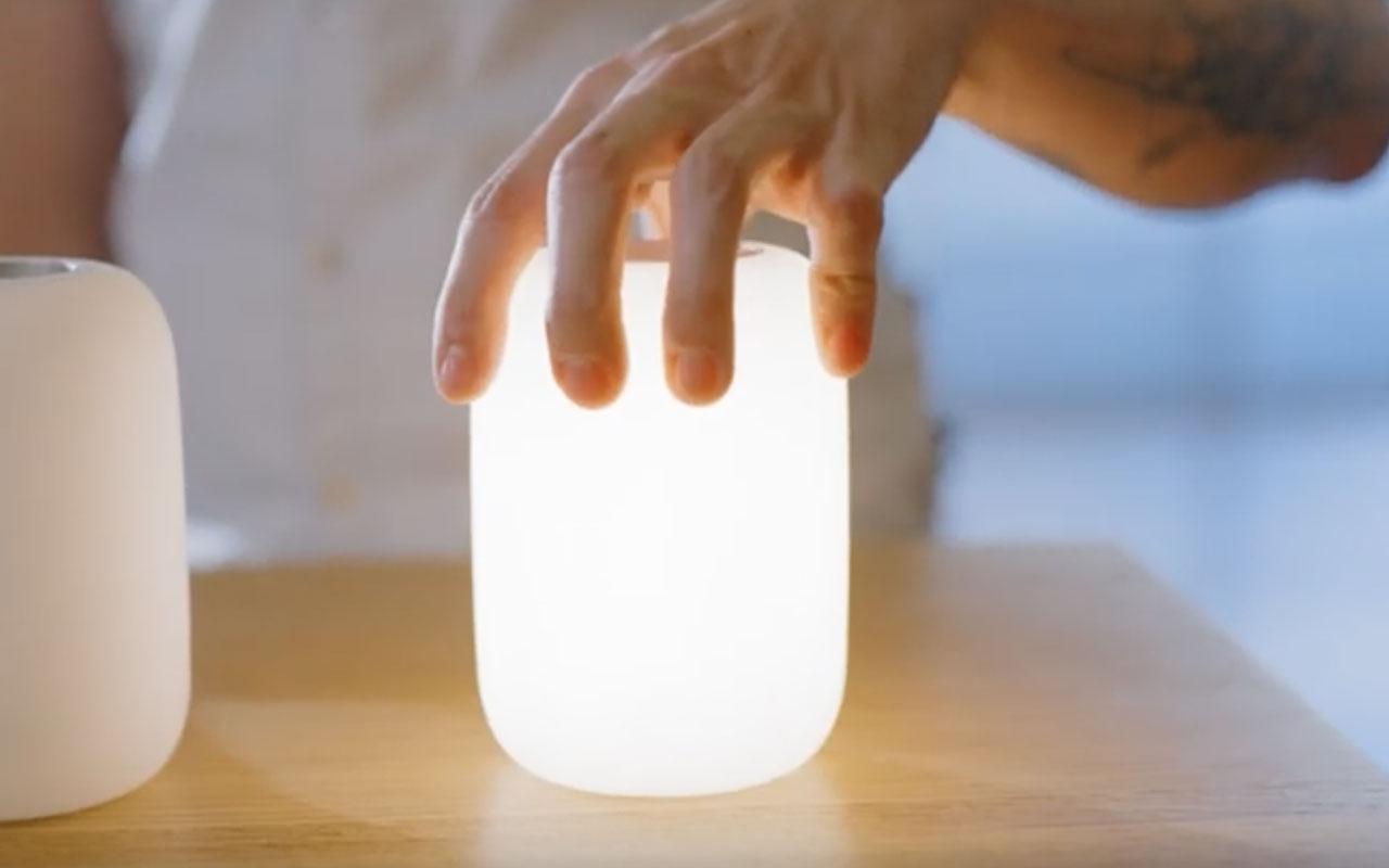 Casper Glow é uma lâmpada inteligente para dormir de fabricantes de colchões