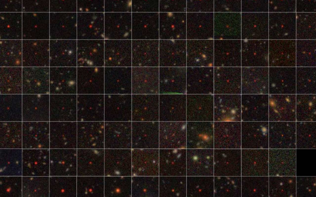 Scientists discover 83 super old supermassive black holes