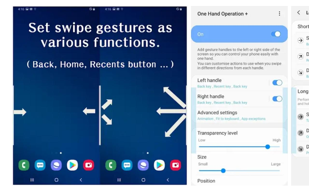 How to use the One Hand Operation + Good Lock app from Samsung