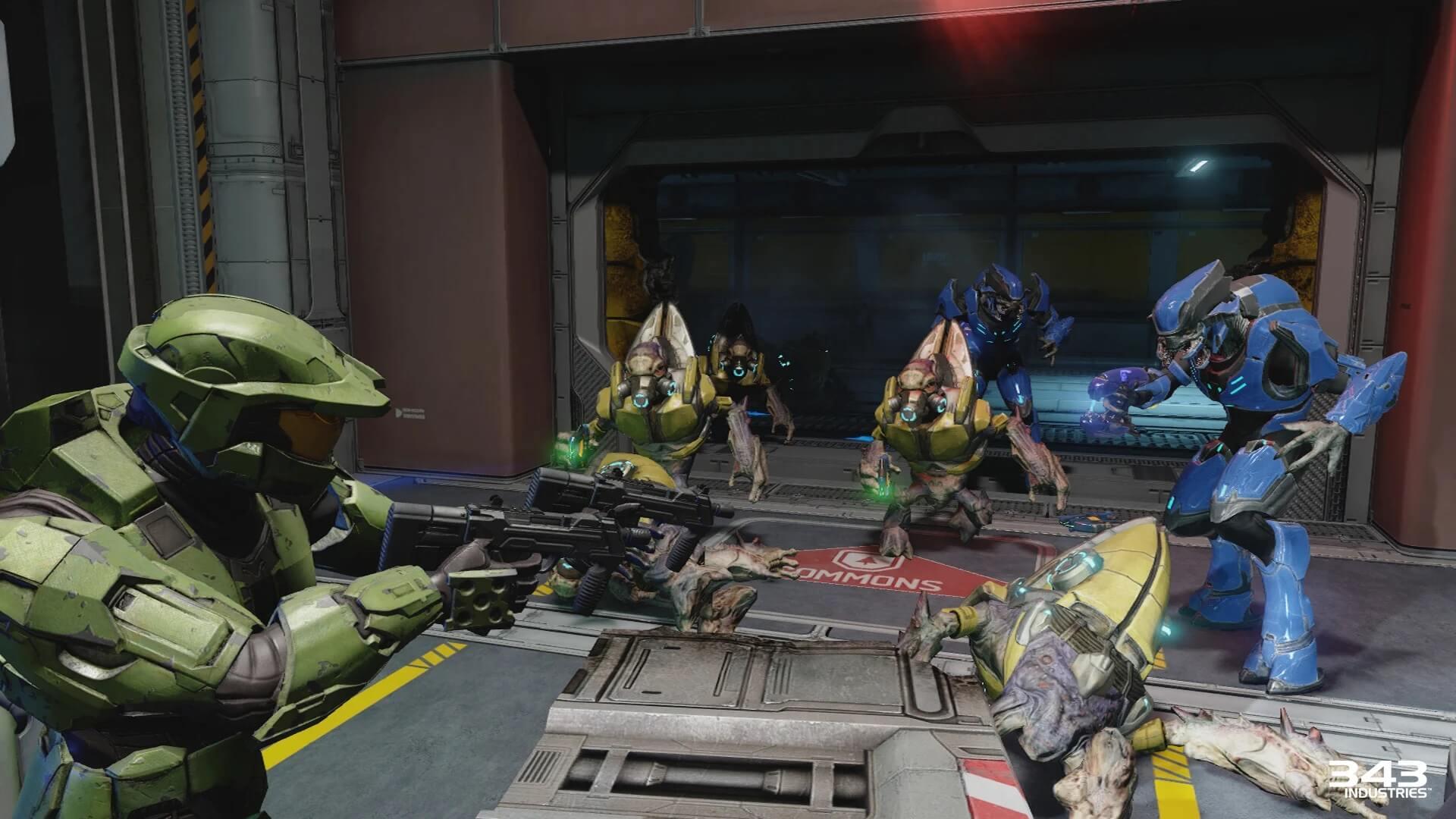 Comparação Halo 2 Original vs Anniversary Remaster 4K