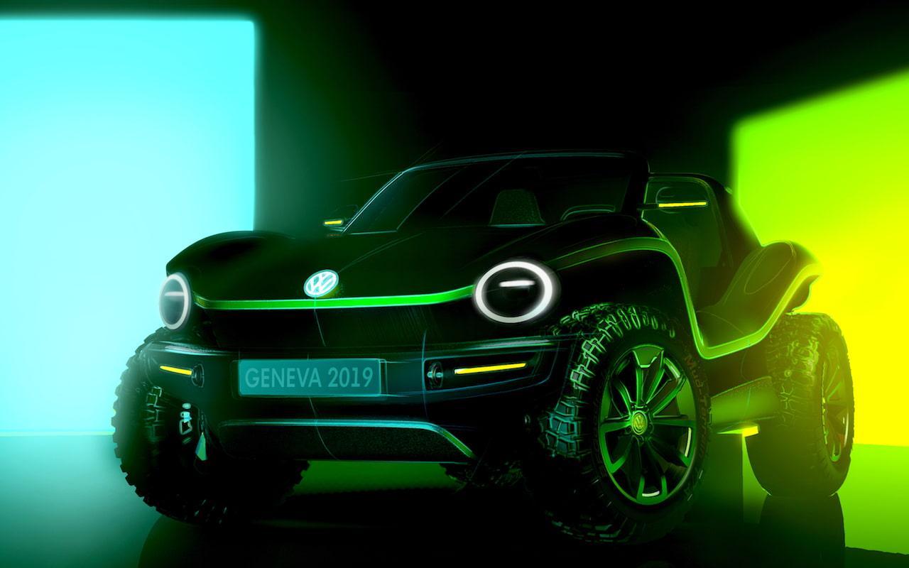 Conceito elétrico de buggy de dunas da VW prova que os EVs não são monótonos