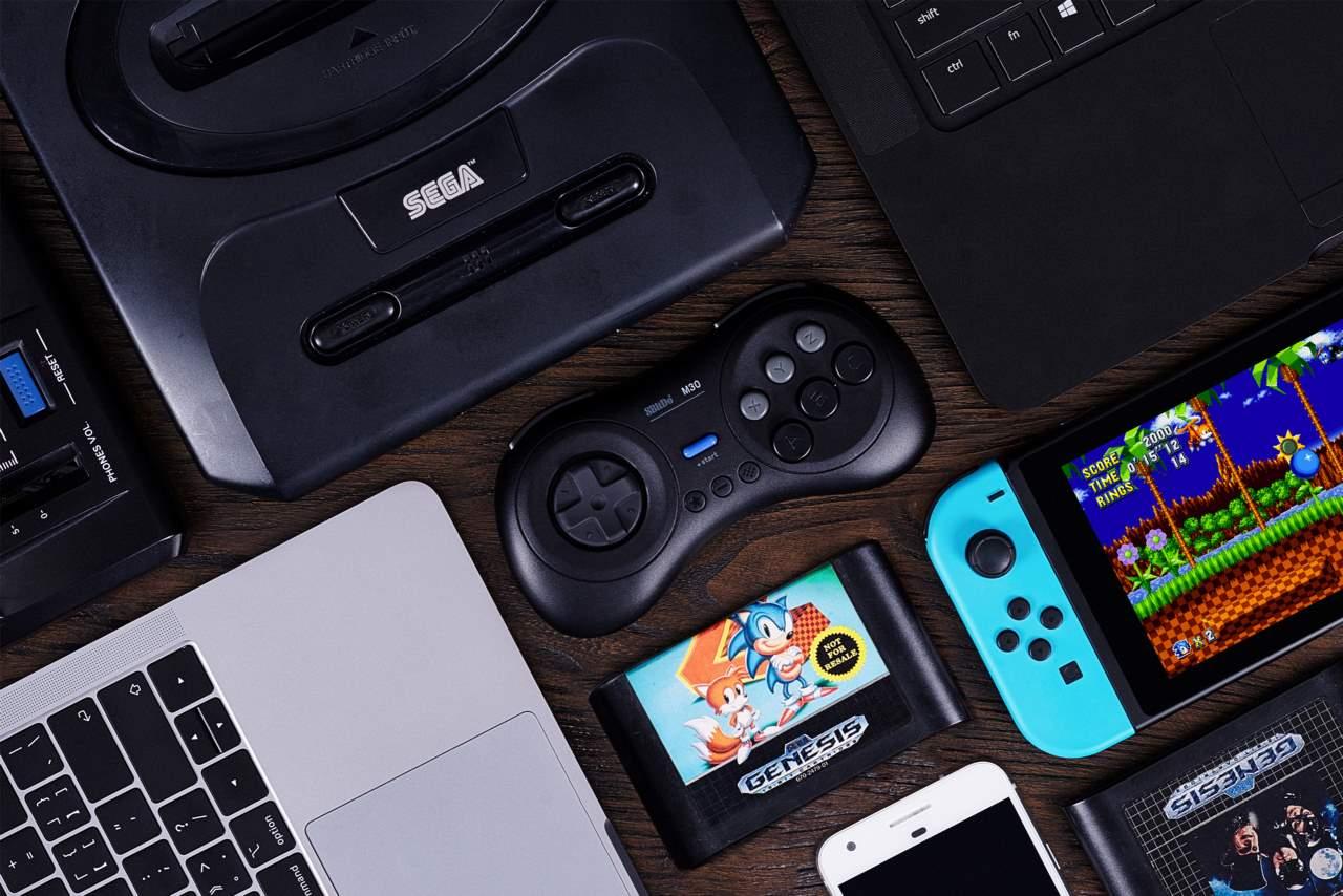 Controlador 8bitdo M30 leva jogos da Sega Genesis sem fio