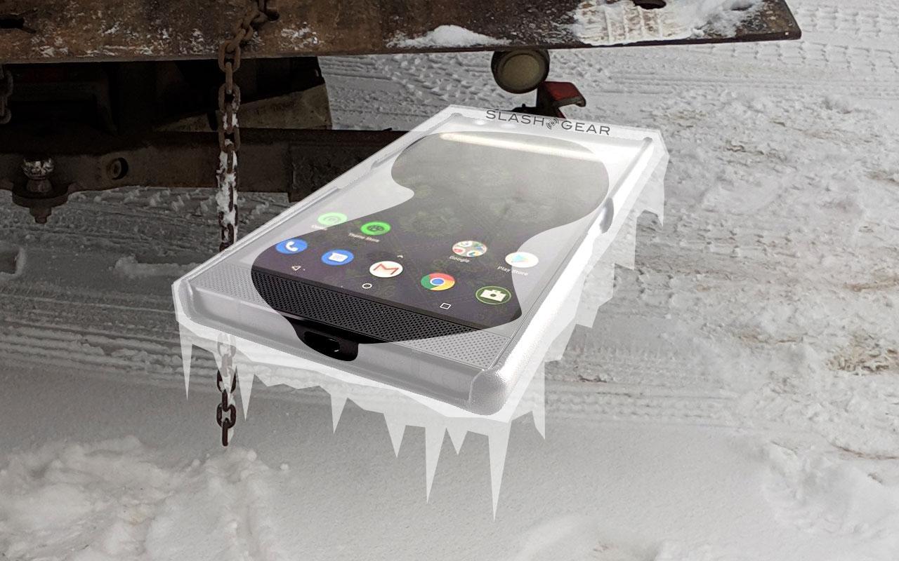 Correção de frio no smartphone congelada: estilo Polar Vortex 2019