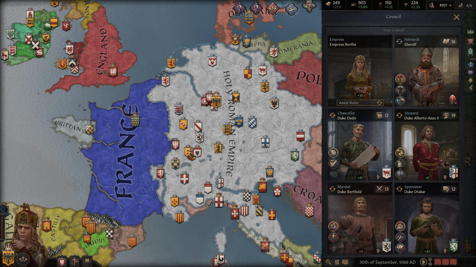 Crusader Kings III será lançado em 1º de setembro