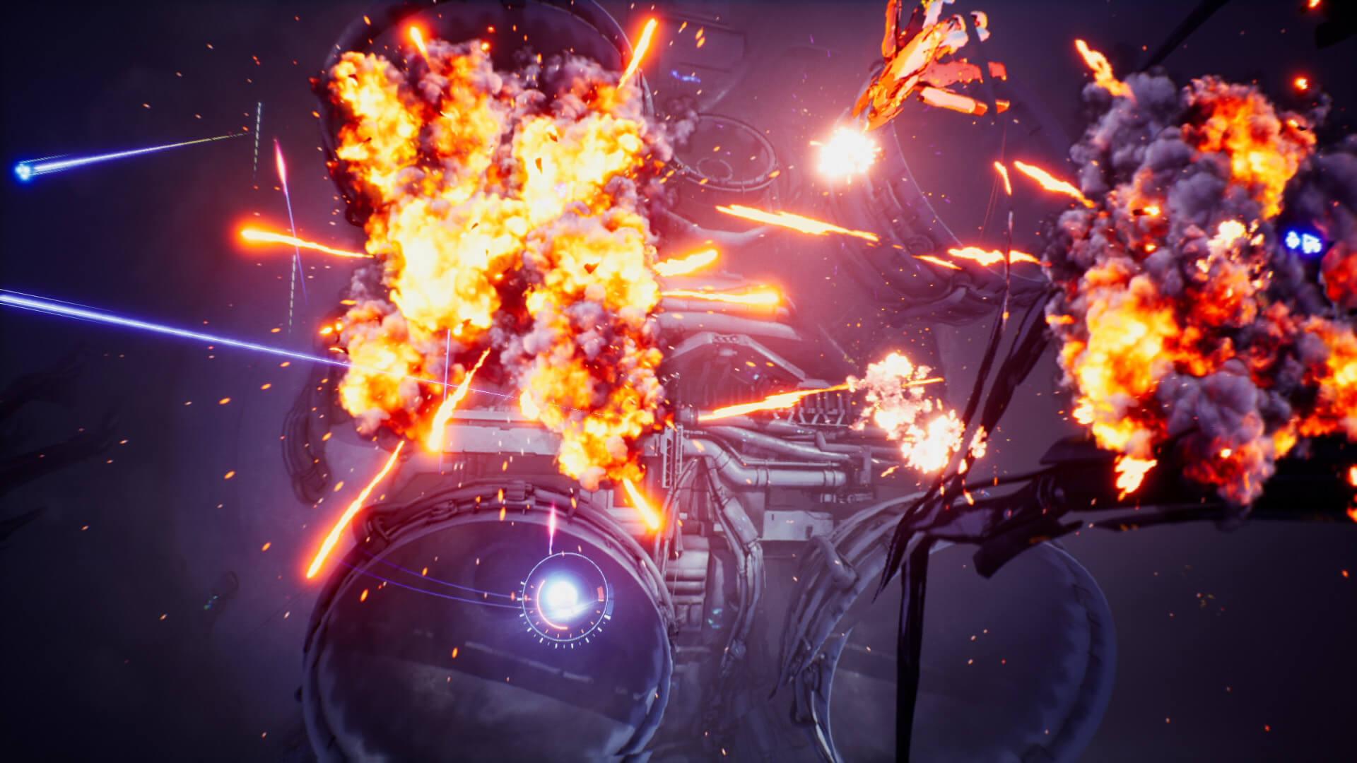 Cygni: All Guns Blazing é um belo jogo de rolagem vertical de vara dupla ...