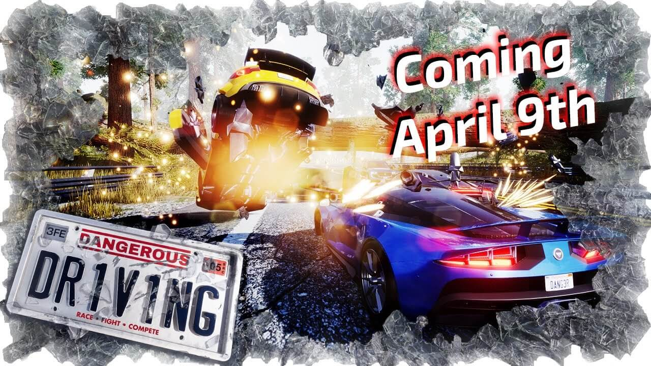 Dangerous Driving, spiritual successor to Burnout 3: Takedown, will be exclusive on Epic's digital store