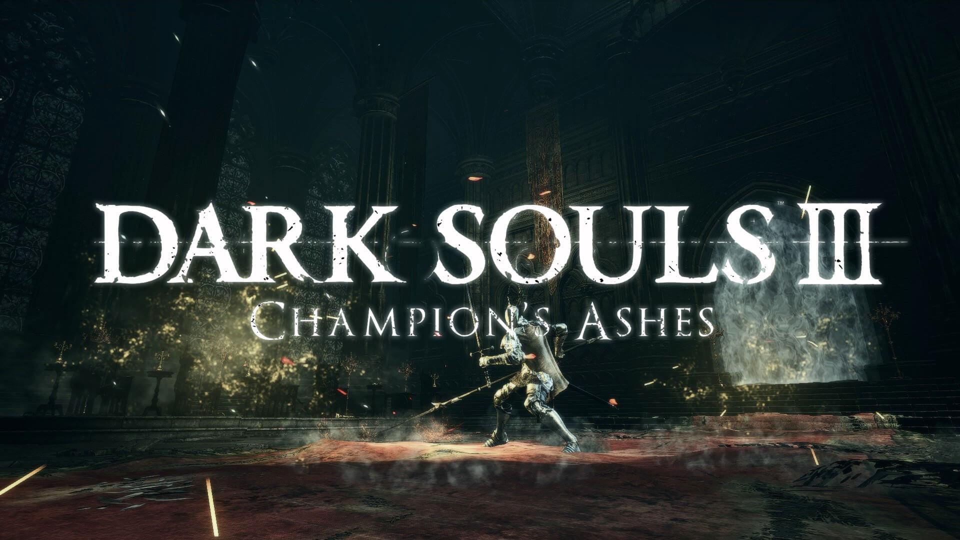 Dark Souls 3 Champion's Ashes é uma jogabilidade e revisão de combate ...