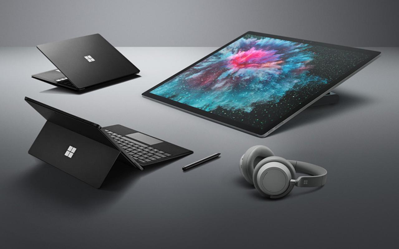 Dispositivos de superfície se expandem para 20 mercados, Fones de ouvido para mais 8 em ...