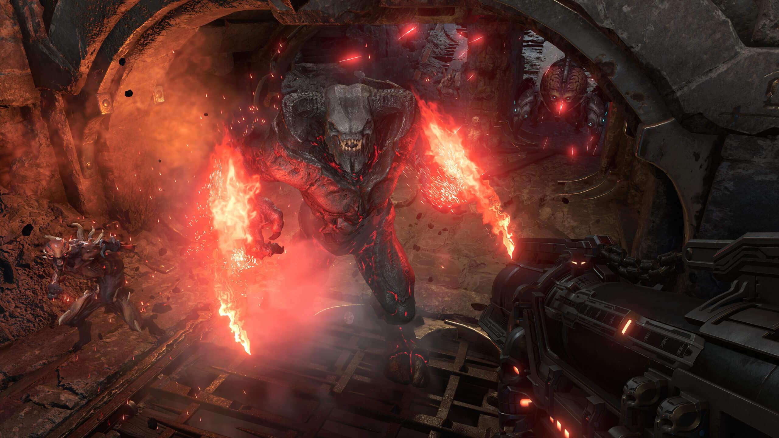 Doom Eternal parece absolutamente lindo nessas últimas imagens oficiais