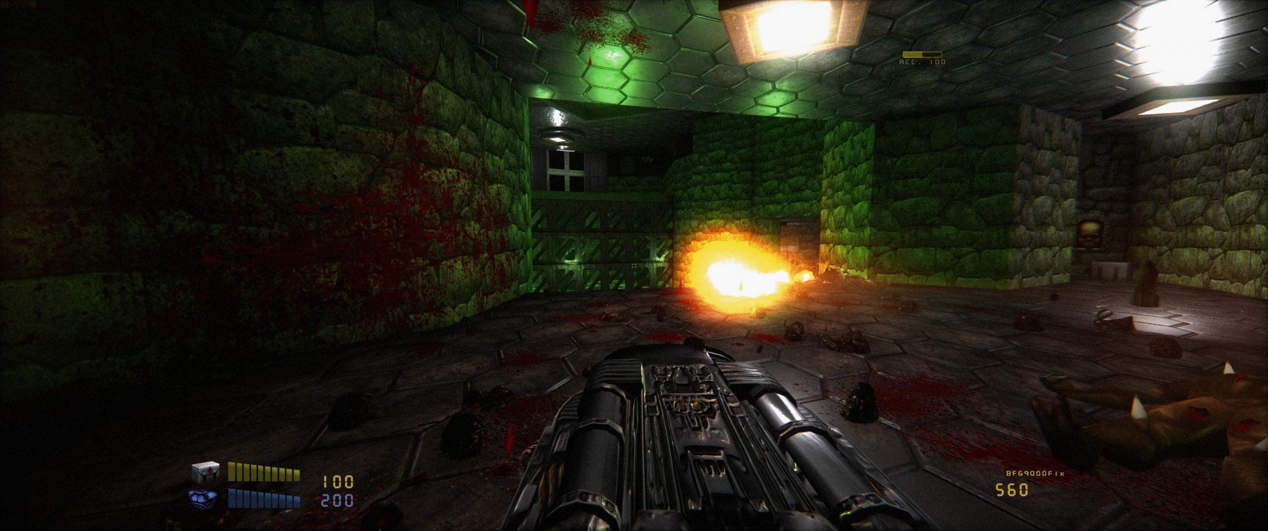 Experimental Doom Remake 4 version adds more lights, improves PBR materials, supports Vulkan API