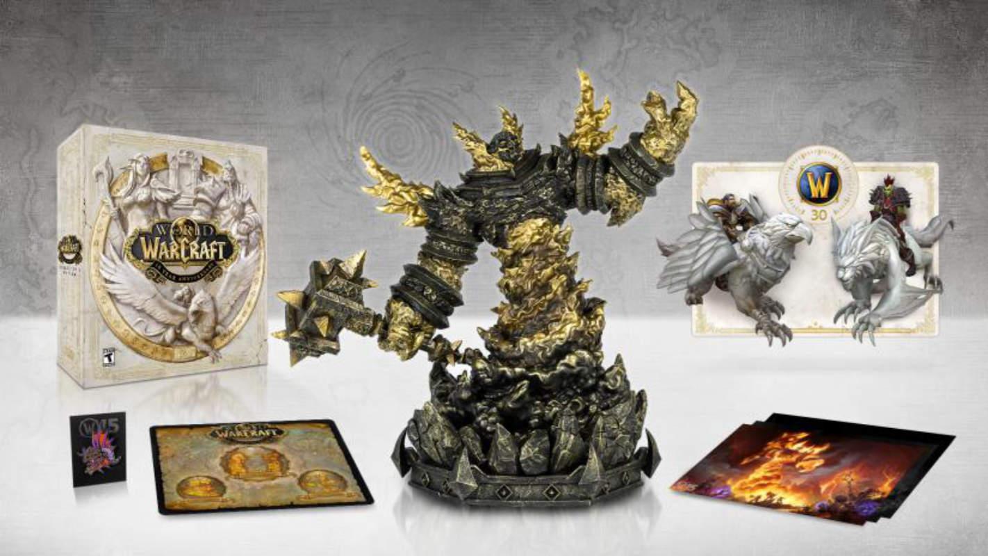 Edição de colecionador do 15º aniversário do World of Warcraft inclui estatueta de 10 ″