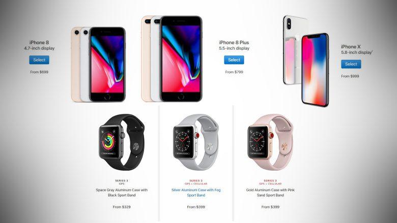 Especificações completas, preços e disponibilidade para iPhone 8, iPhone X, Apple ...